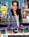 Kristen Stewart on the cover of Grazia (United Kingdom) - September 2012