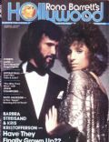 Barbra Streisand, Kris Kristofferson on the cover of Rona Barretts Hollywood (United States) - October 1977