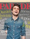 Daniel Radcliffe on the cover of Parade (United States) - January 2012