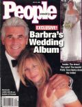 Barbra Streisand, James Brolin on the cover of People (United States) - July 1998