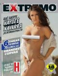 Haydée Navarra on the cover of H Extremo (Mexico) - October 2011