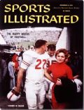 Bobby Lackey on the cover of Sports Illustrated (United States) - November 1959