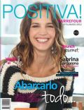 Sabrina Garciarena on the cover of Positif (Argentina) - March 2012