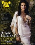 Angie Harmon on the cover of Page Six (United States) - November 2007