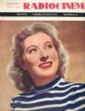 Greer Garson on the cover of Radio Cinema Television (Spain) - May 1949