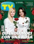 Anna Tatangelo, Michelle Hunziker on the cover of TV Sorrisi E Canzoni (Italy) - February 2009