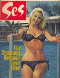 Ivy Holzer on the cover of Ses (Turkey) - May 1965
