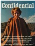 Mia Farrow on the cover of Confidential (United States) - June 1970