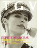 Sophie Marceau on the cover of Tgv (France) - December 2004