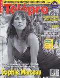 Sophie Marceau on the cover of Telepro (France) - September 2003