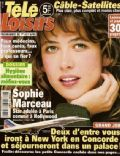 Sophie Marceau on the cover of Tele Loisirs (France) - March 2000