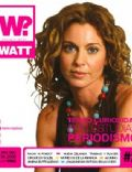 Karina Mazzocco on the cover of Watt (Argentina) - April 2006