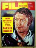Michael Caine on the cover of Film Review (United Kingdom) - September 1975
