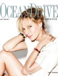 Uma Thurman on the cover of Ocean Drive (Puerto Rico) - April 2010