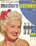 Betty Grable on the cover of Modern Screen (United States) - September 1949