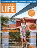 Özge Özberk on the cover of Istanbul Life (Turkey) - May 2008