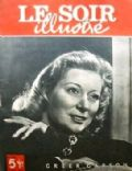 Greer Garson on the cover of Le Soir Illustre (Belgium) - November 1948