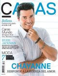 Chayanne on the cover of Caras (Puerto Rico) - August 2014