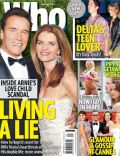 Arnold Schwarzenegger, Maria Shriver on the cover of Who (Australia) - May 2011
