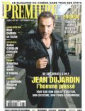 Jean Dujardin on the cover of Premiere (France) - September 2007
