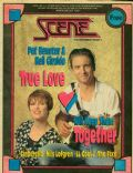Neil Giraldo, Pat Benatar on the cover of Scene (United States) - March 1991
