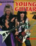 Robbin Crosby, Warren Demartini on the cover of Young Guitar (Japan) - April 1985