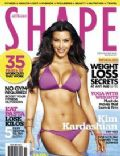 Kim Kardashian on the cover of Shape (Australia) - November 2010