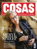 Meryl Streep on the cover of Cosas (Peru) - February 2012