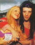 Twiggy Ramirez and Courtney Love