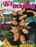 Agustina Cherri, Agustina Lecouna, Alejo Ortiz, Dolores Fonzi, Marcela Kloosterboer, Tomás Fonzi on the cover of TV Y Novelas (Argentina) - June 1998