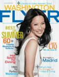 Lucy Liu on the cover of Washington Flyer (United States) - July 2012