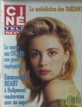 Emmanuelle Béart on the cover of Cine Revue (France) - March 1998