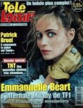 Emmanuelle Béart on the cover of Tele Loisirs (France) - February 2005