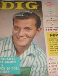 Pat Boone on the cover of Dig (United States) - February 1957