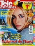 Emmanuelle Béart on the cover of Tele 2 Semaines (France) - June 2004