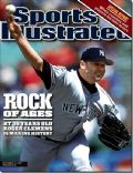 Roger Clemens on the cover of Sports Illustrated (United States) - September 2001