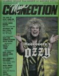 Ozzy Osbourne on the cover of Music Connection (United States) - June 1987