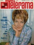 Odile Versois on the cover of Telerama (France) - May 1961
