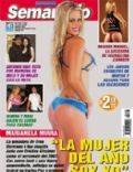 Marianela Mirra on the cover of Semanario (Argentina) - January 2008