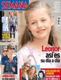 Infanta Leonor of Spain on the cover of Semana (Spain) - April 2014