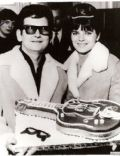 Claudette Orbison and Roy Orbison