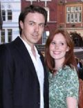 Andrew Buchan and Amy Nuttall