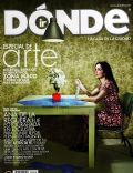 Donde Ir Magazine [Mexico] (April 2009)