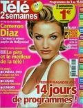 Cameron Diaz on the cover of Tele 2 Semaines (France) - April 2004