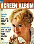 Connie Stevens on the cover of Screen Album (United States) - April 1962