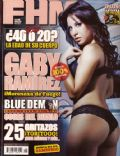 Gaby Ramirez on the cover of Fhm (Mexico) - September 2006