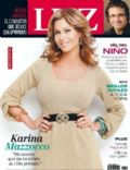 Karina Mazzocco on the cover of Luz (Argentina) - August 2011