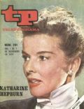 Katharine Hepburn on the cover of Tp (Spain) - November 1971