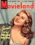 Rita Hayworth on the cover of Movieland (United States) - May 1949