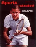 Dennis Ralston on the cover of Sports Illustrated (United States) - August 1963